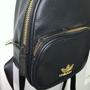 Mini adidas backpack faux leather